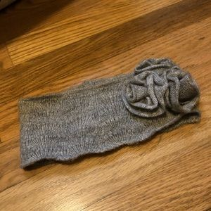 Forever 21 gray headband ear warmer